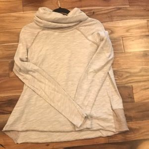 Free people Cowell neck long sleeve.